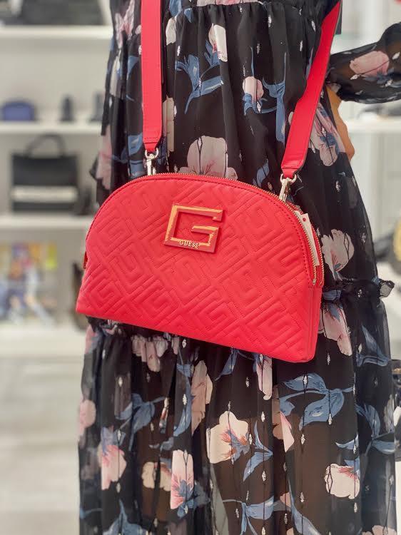 Guess ženska torbica - pink