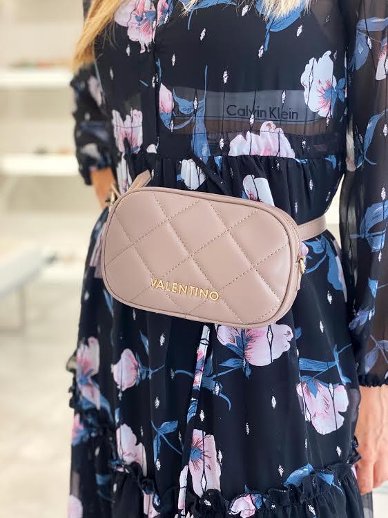 Valentino by Miriade rjava torbica za okrog pasu