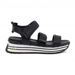 Liu jo črni sandali - Spletna prodaja in Nakup Renini