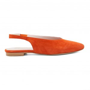 Ženski Oranžni Usnjeni sandali Renini