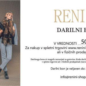 Darilni bon Spletna Trgovina Renini