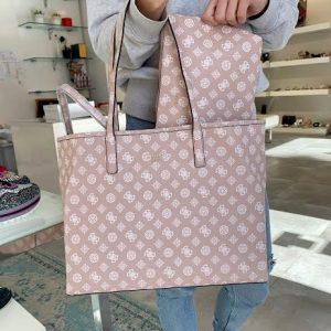Guess roza ženska torba