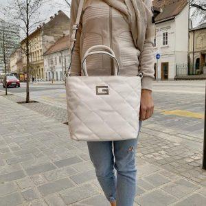 Guess bela ženska torba - Kolekcija pomlad-poletje 2021