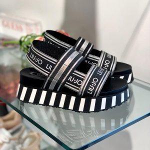 Liu Jo črni sandali