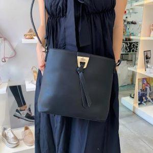 Roccobarocco črna torbica