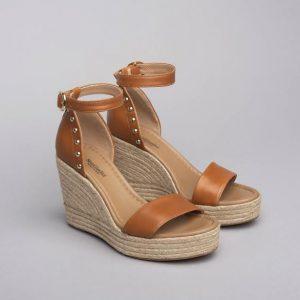 NeroGiardini espadrila rjavi sandali
