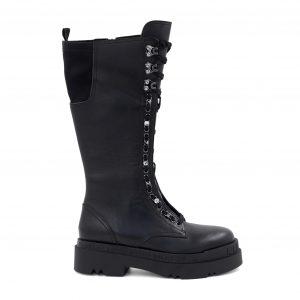 Liu Jo črni škornji