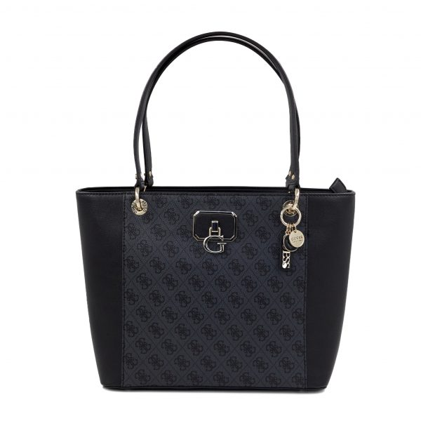 Guess črna logo ženska torba