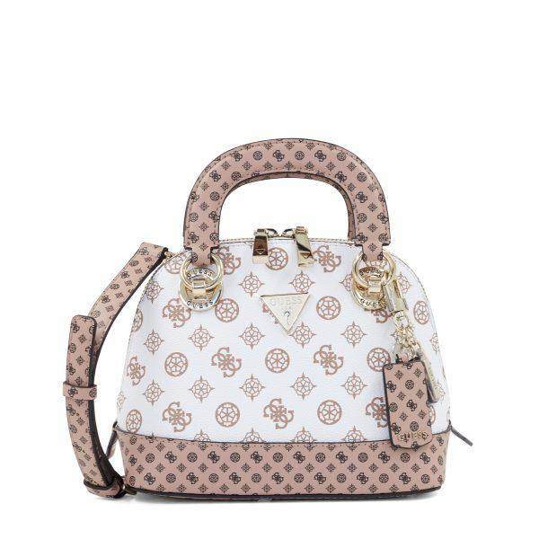 Guess torbica polkrožne oblike