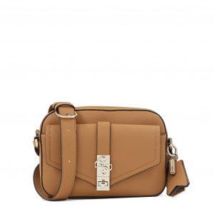 Guess torbica v svetlo rjavi barvi