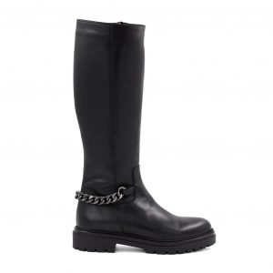 Črni škornji Inuovo